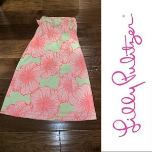 Lilly Pulitzer Franco Hibiscus Dress, 10P